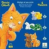 Djeco DJ07113 Progressive Puzzle- Misty And Friends Puzzle