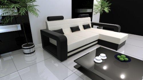 Couchgarnitur mit Schlaffunktion, NEU, Schlafsofa Polsterecke Sofagarnitur Sofa MIAMI, Wohnlandschaft, in diversen Stoffen und Farben innerhalb von 5-10 Werktagen lieferbar.