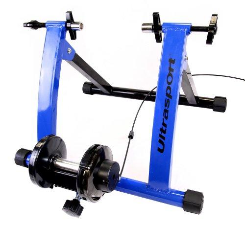 Ultrasport - Jeu de rouleaux pour vélo avec boîte de vitesses, certificat de sécurité TÜV