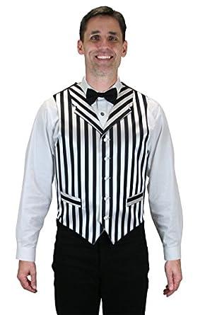 Victorian Men's Vests and Waistcoats Barbershop Dress Vest  AT vintagedancer.com