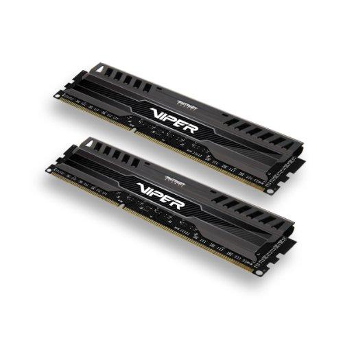 Patriot 8GB 2x4GB Viper III DDR3 1866MHz PC3 15000 CL9 Desktop Memory With Saphire Blue Heatsink- PV38G186C9KBL...