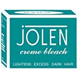 1 X Jolen Creme Bleach 18gm Lightens Dark Facial Hair Skin Fairness Cream Bleach