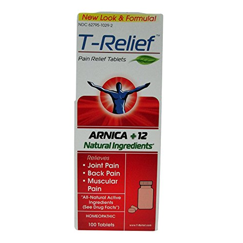 Medinatura T-relief Pain Relief 100 Tablets (2 Pack)
