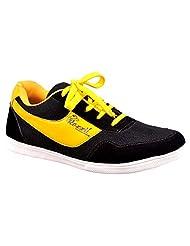 Aureno Men's Synthetic Sneakers - B011BGL9AQ