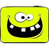 Snoogg Funny Broken Teeth 12 To 12.6 Inch Laptop Netbook Notebook Slipcase Sleeve