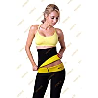 PETRICE New Comfortable 2 PC Set (Waist Belt +Pants) Hot Shaper Shaping Neotex Trimmer For Women - Detox Thermo...