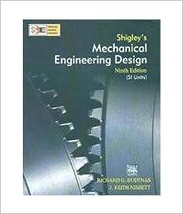 Shigley's Mechanical Engineering Design 10th édition PDF e
