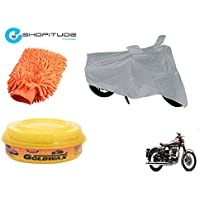 ESHOPITUDE-Bike & Car Cleaning & Utility Combo Set Of 3-Royal Enfield CLASSIC