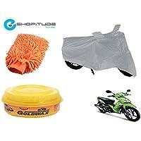 ESHOPITUDE-Bike & Car Cleaning & Utility Combo Set Of 3-TVS ROCKZ