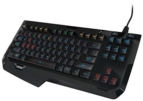 Logitech G410 Atlas Spectrum RGB Tenkeyless Mechanical Gaming Keyboard (920-007731)