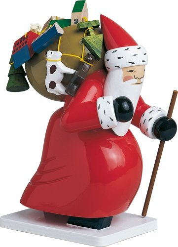 Handpainted Wooden Large Santa with Toys