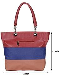 Kacey::Kacey Pink Shoulder Bag::Kacey Blue Shoulder Bag::Designer Shoulder Bag::Women Shoulder Bag::PU Shoulder...