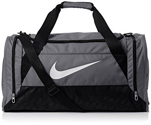 Nike Brasilia Sac de sport Flint Grey/Black/White Taille 6