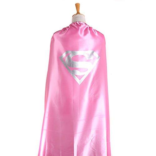 Starkma Adult Supergirl Superwomen Superhero Stain Cape Costume 01