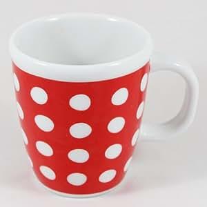 Amazon.com | Bodum Copenhagen 16-Ounce Porcelain Mug, Red