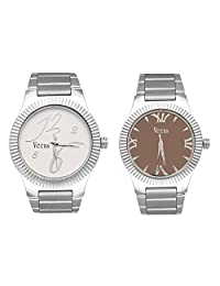 Veens Multicolor Dial Combo Pack Of 2 Boys/Gents/Mens Wrist Watch DW1092 Ce