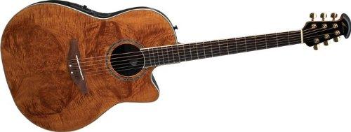 ovation celebrity cc24 acoustic electric guitar nutmeg burled maple acousticelectricguitarsale. Black Bedroom Furniture Sets. Home Design Ideas