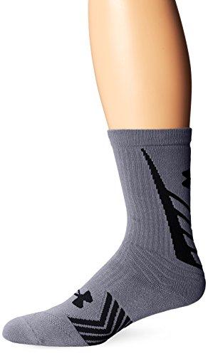 Under Armour Men's Undeniable All Sport Crew Socks , Steel/B