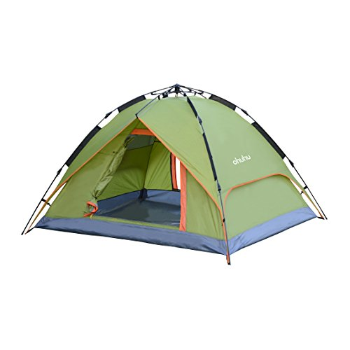 3 Person Tent with Carry Bag, UV-proof Beach Tent