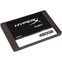 Kingston Digital HyperX FURY 480GB SSD SATA 3 2.5 Solid State Drive SHFS37A 480G