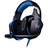 VersionTech Wired Stereo Gaming Headset, Over Ear Headphones With Microphone And Volume Control For PC Mac Computer