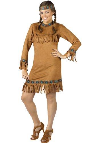 Halloween 2017 Disney Costumes Plus Size & Standard Women's Costume Characters - Women's Costume CharactersNative American Plus Size Costume