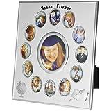 Treta Silver-plated Photo Frame(Photo Size - 4 X 3.5, 13 Photos)