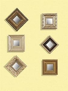 Amazon.com - Bassett Mirror Company Set Of 6 Decorative ...