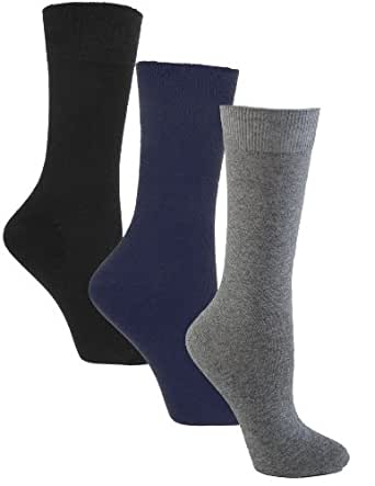 Amazon.com: Sugar Free Sox Ladies Assorted 3 Pack Health
