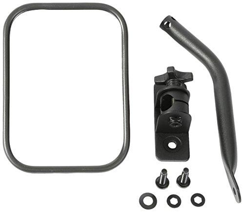 Rugged Ridge 11025.18 Textured Black Rectangular Quick Release Mirror Kit