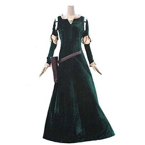 Halloween 2017 Disney Costumes Plus Size & Standard Women's Costume Characters - Women's Costume CharactersPrincess Merida Adult Brave Costume Dress - Made-to-Fit Custom Sizing