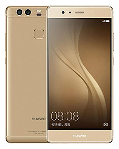 "Huawei P9 5.2"" 32GB ROM 3GB RAM Dual SIM Kirin 955 Octa Core Dual 12 MP Camera 4G LTE Smartphone (Prestige Gold) - International Version No Warranty"