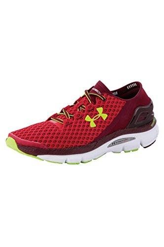 Under Armour UA Speedform Gemini - zapatillas de running de material sintético hombre, color rojo, talla 42.5