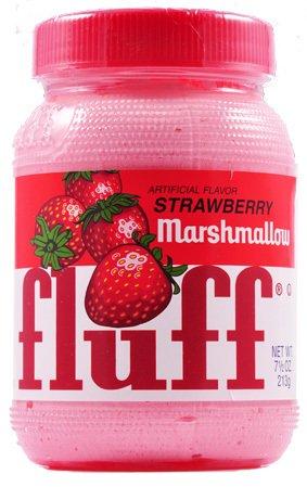 fluff(フラフ) マシュマロクリーム ストロベリーフレーバー 213g