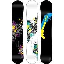 Never Summer Revolver Rocker/Camber Snowboard Wide
