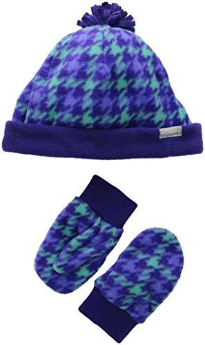 Columbia Little Girls'  Frosty Fleece Set, Hyper Purple Plai