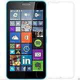 SNOOGG Microsoft Lumia 640 XL Full Body Tempered Glass Screen Protector [ Full Body Edge To Edge ] [ Anti Scratch...