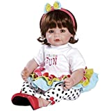 "Adora Circus Fun Brown Hair With Blue Eyes 20"" Baby Doll"