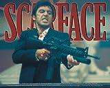 Scarface Big Gun Sticker S-3390