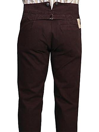 Edwardian Men's Pants Wahmaker Canvas Pants  AT vintagedancer.com
