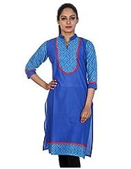 Rajrang Women Kurta Top Cotton Long Kurti - B00U25TMC0