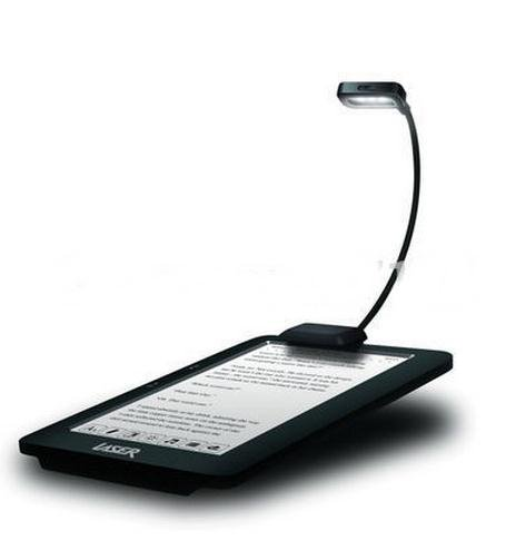 Adjustable Flexible LED Light for Kindle & Book reading (With Batteries) (Black Color) (2 level of light)