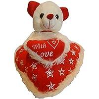 Taringo24h Love On Heart Teddy Bear 10 Inch