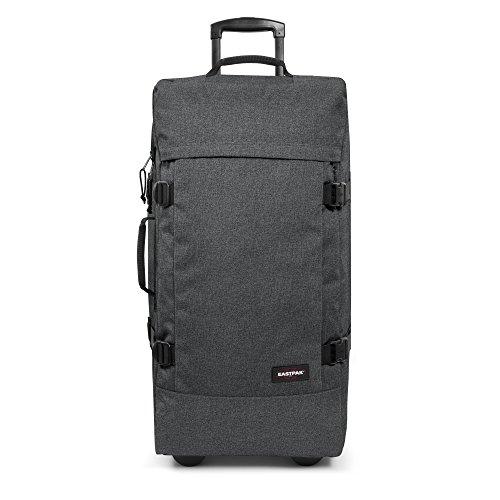 eastpak tranverz l bagage cabine 55 cm 121 l black denim avis boutique. Black Bedroom Furniture Sets. Home Design Ideas