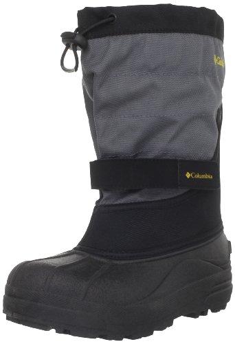 Columbia Powderbug Plus II Waterproof Winter Boot,Black/Inte