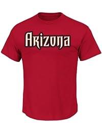 MLB Men's Short Sleeve Basic Logo Crew Neck T-Shirt