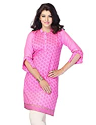 Miss & Mrs Casual 3/4 Sleeve Printed Women's Kurti