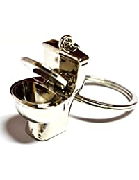 SHOPEE BRANDED Commode Pot Keychain - (8cmL X 6cmB, Silver)