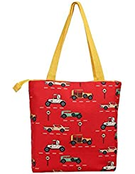 The Crazy Me Vintage Cars Tote Bag