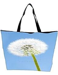 Snoogg Dandelion In The Wind Waterproof Bag Made Of High Strength Nylon